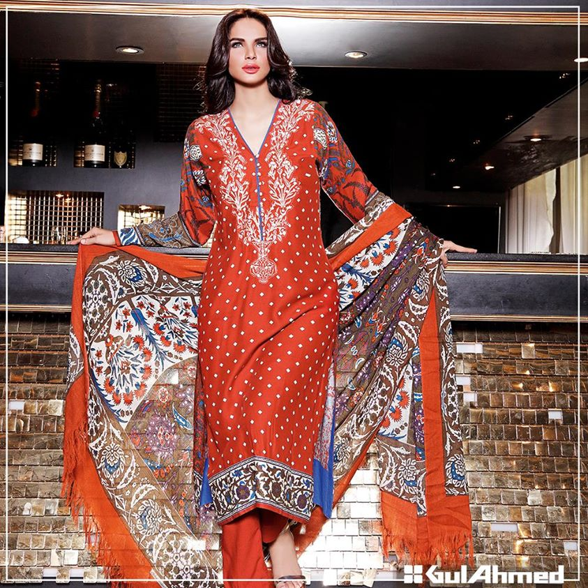 Gul Ahmed Winter Collection 2015 (20)