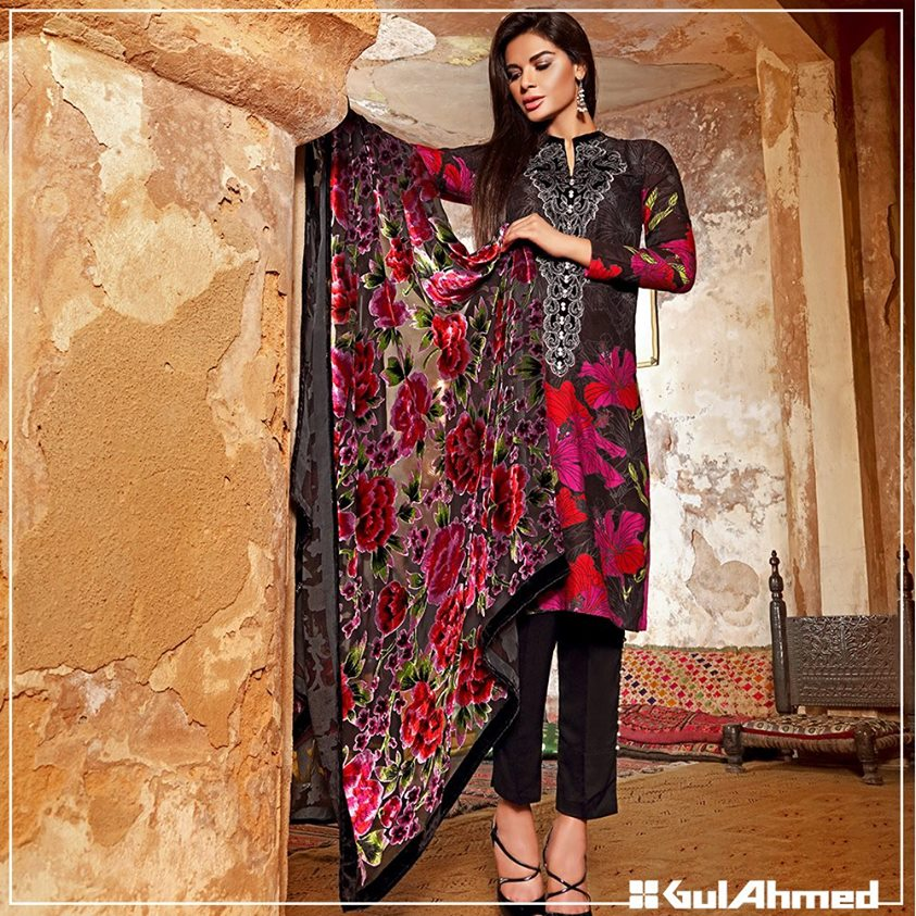 Gul Ahmed Winter Collection 2015 (21)
