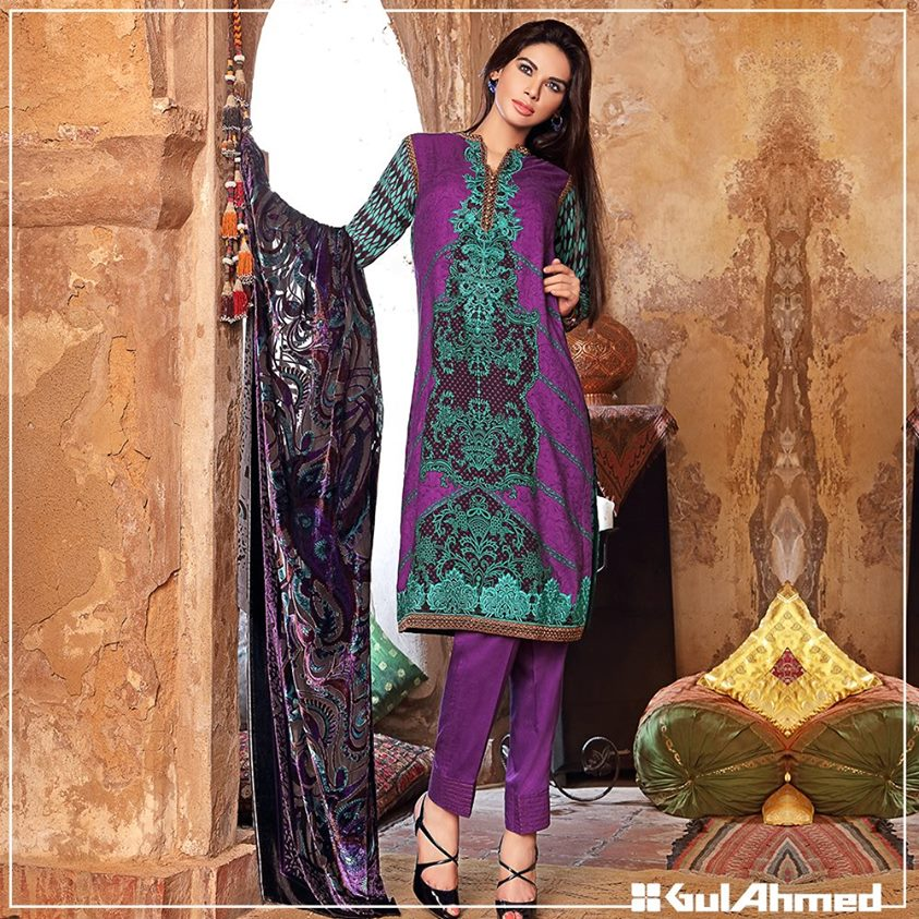 Gul Ahmed Winter Collection 2015 (23)