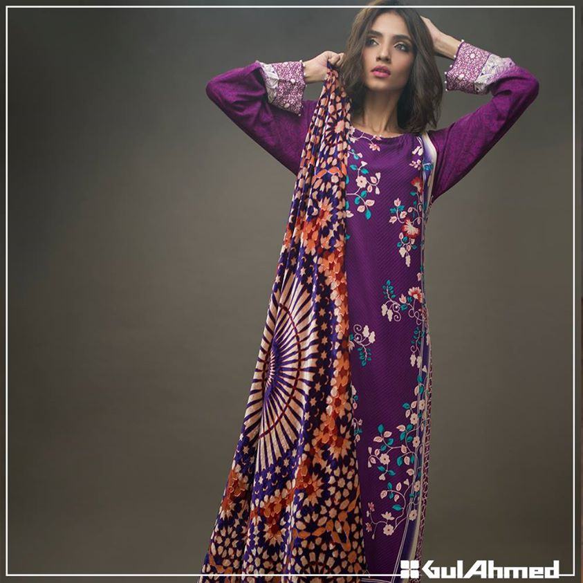 Gul Ahmed Winter Collection 2015 (24)