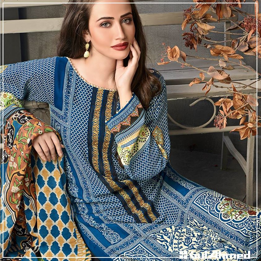 Gul Ahmed Winter Collection 2015 (27)