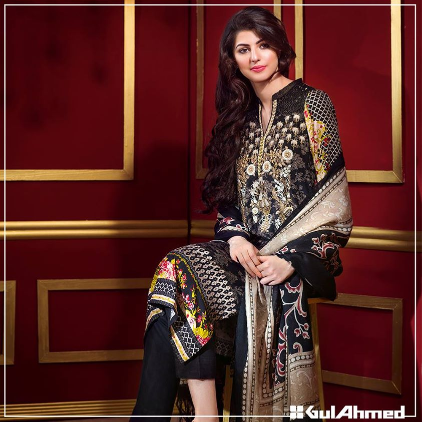 Gul Ahmed Winter Collection 2015 (28)