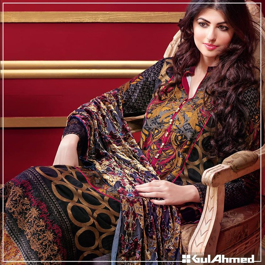 Gul Ahmed Winter Collection 2015 (3)