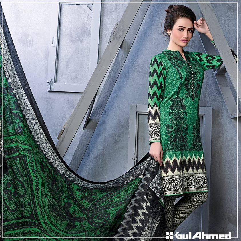 Gul Ahmed Winter Collection 2015 (30)