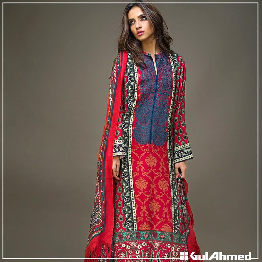 Gul Ahmed Winter Collection 2015 (31)