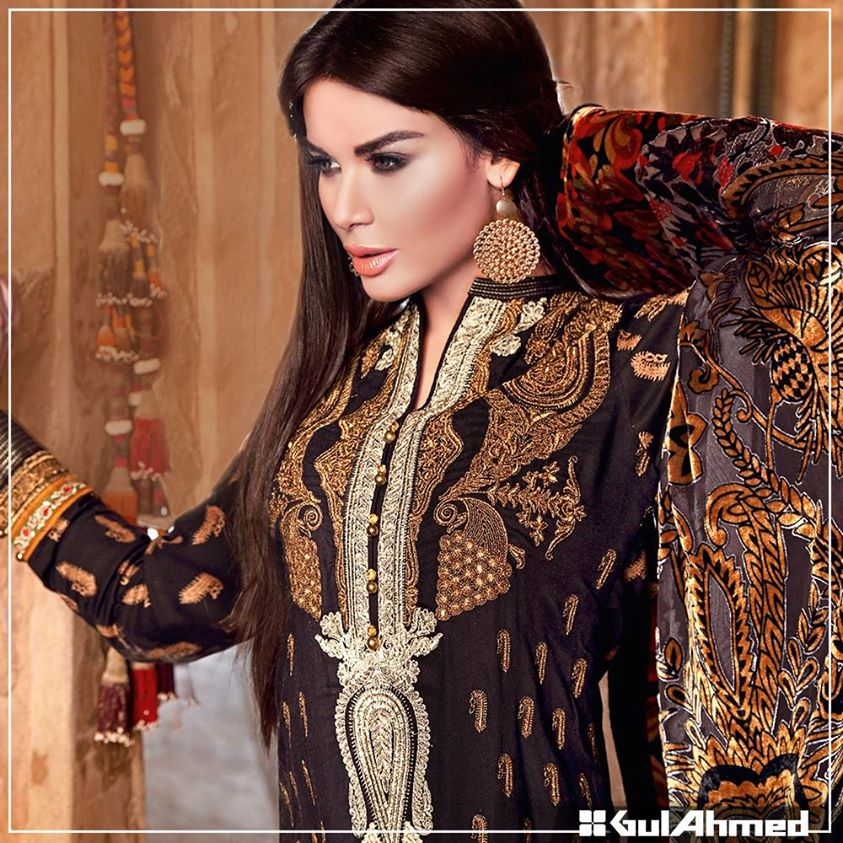 Gul Ahmed Winter Collection 2015 (32)
