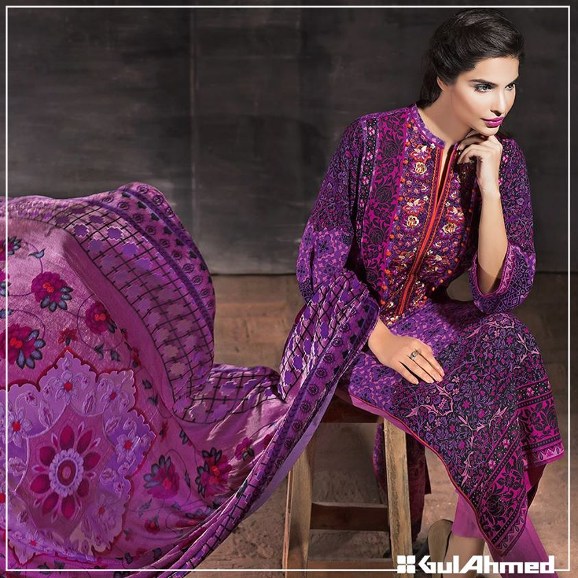Gul Ahmed Winter Collection 2015 (33)