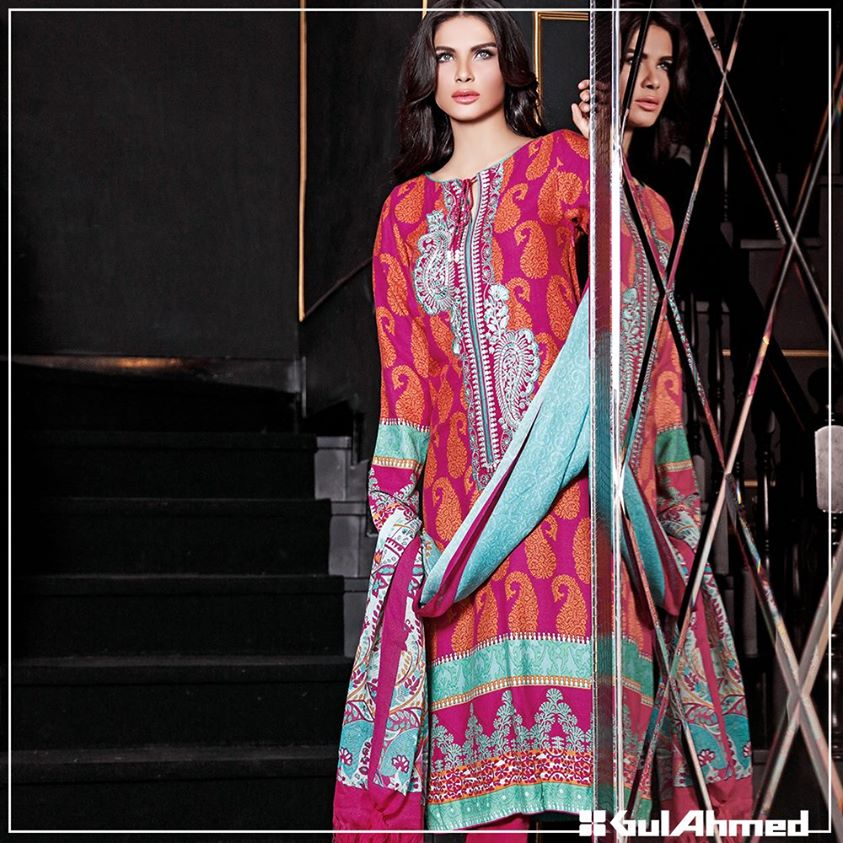 Gul Ahmed Winter Collection 2015 (34)