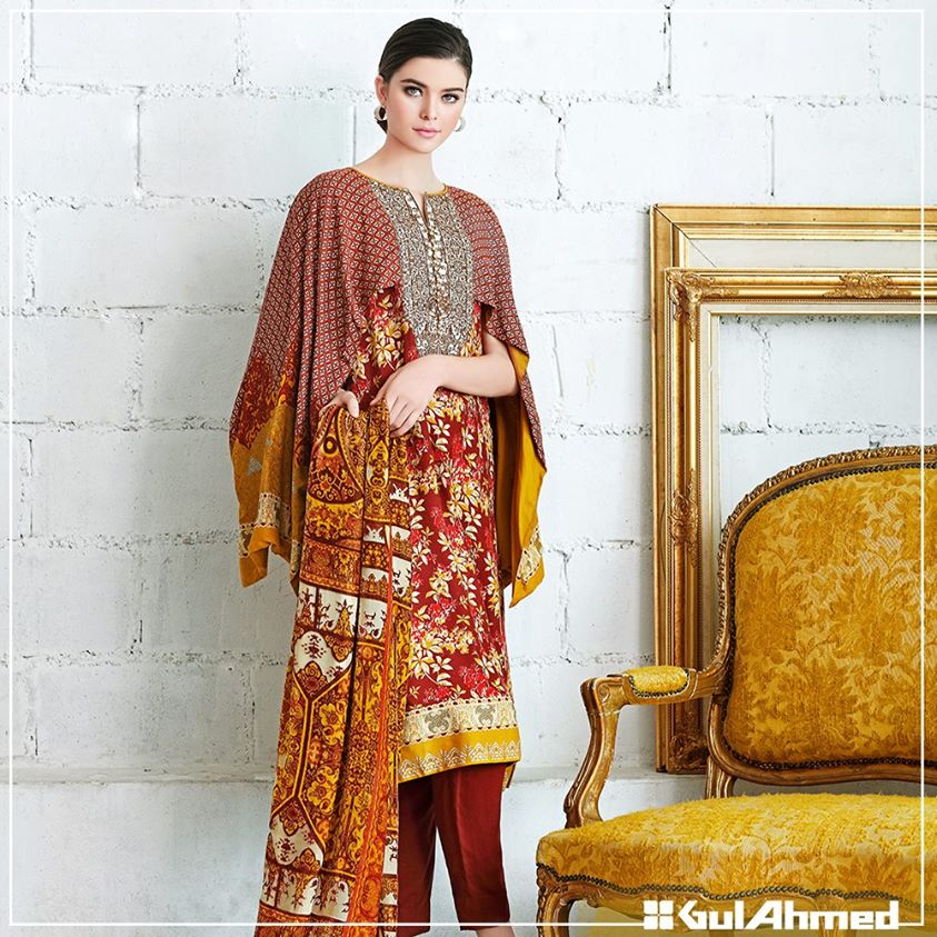 Gul Ahmed Winter Collection 2015 (4)