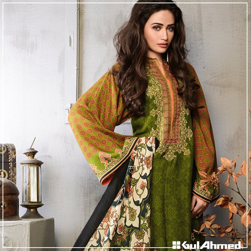 Gul Ahmed Winter Collection 2015 (5)