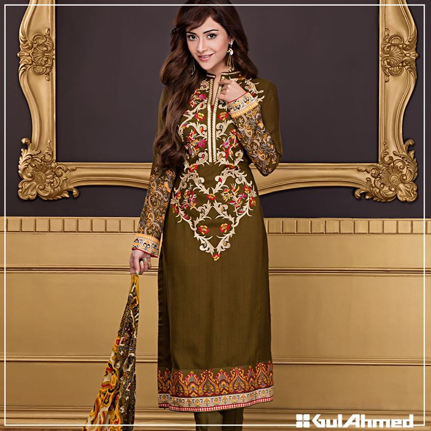 Gul Ahmed Winter Collection 2015 (6)