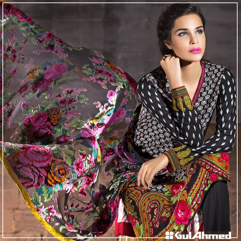 Gul Ahmed Winter Collection 2015 (7)
