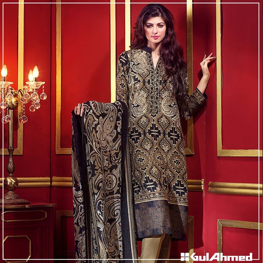 Gul Ahmed Winter Collection 2015 (9)