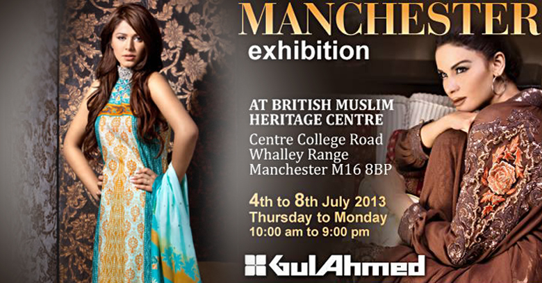 Gul Ahmed enters Manchester with its clothing line