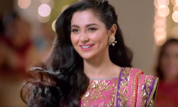 Sunsilk's New TVC Featuring Hania Aamir Will Up your Wedding