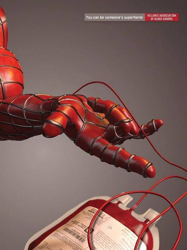 Hellenic Association of Blood Donors - Spidey