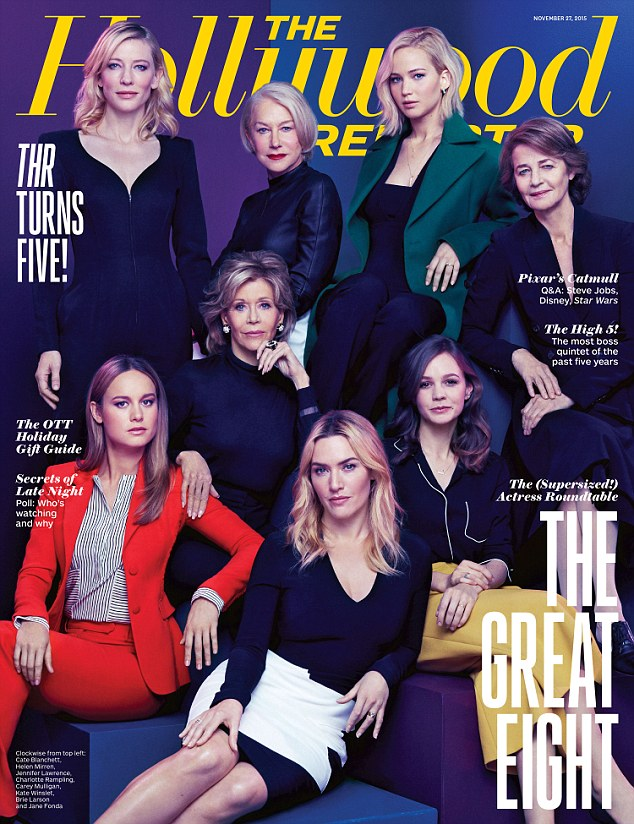 Hollywood Reporter Cover November