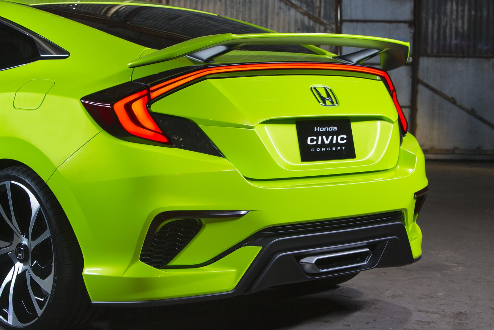 Honda Unveils the All-New Civic 2016 in 7 Bold Colors - Brandsynario