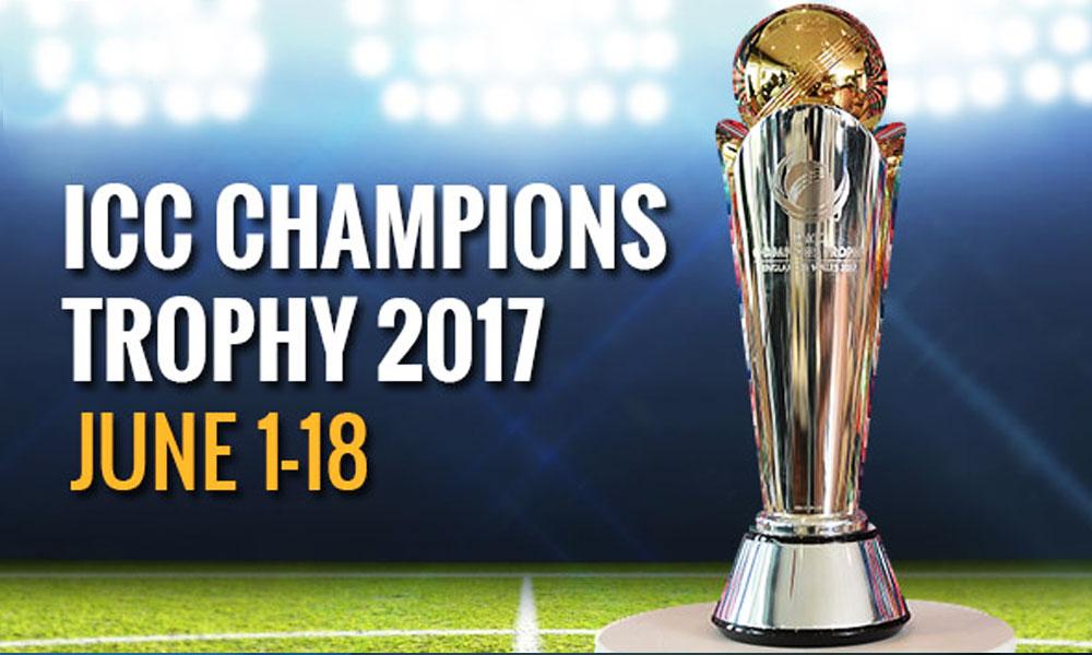 ICC Champions Trophy 2017 Match Schedule Tickets