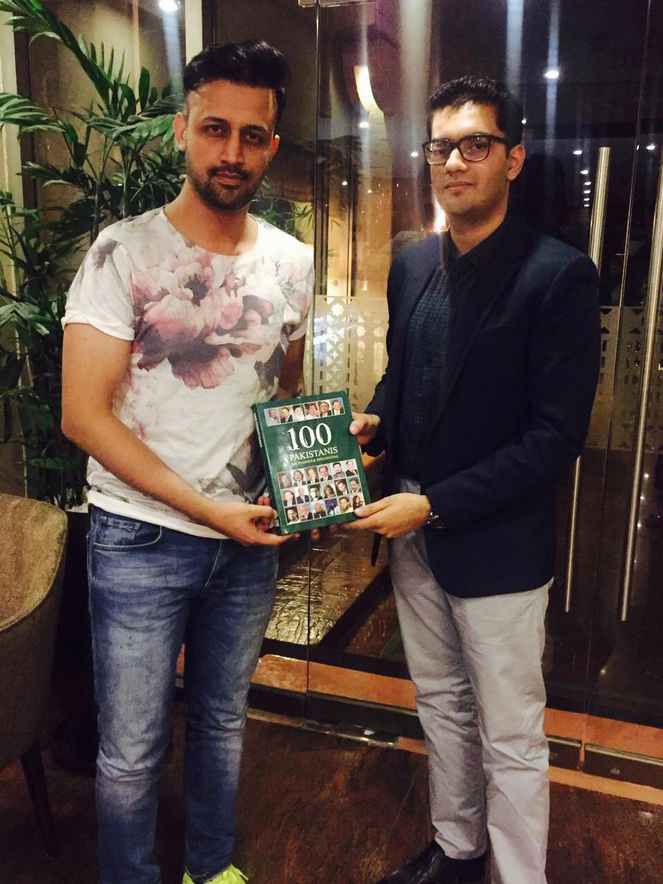 atif aslam honoured as 100 most influential pakistani