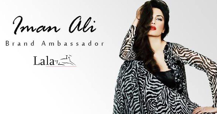Iman Ali Becomes the Face of LalaTextiles After Asim Jofa