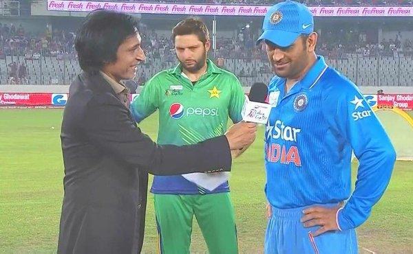 India Vs Pakistan toss.brandsynario
