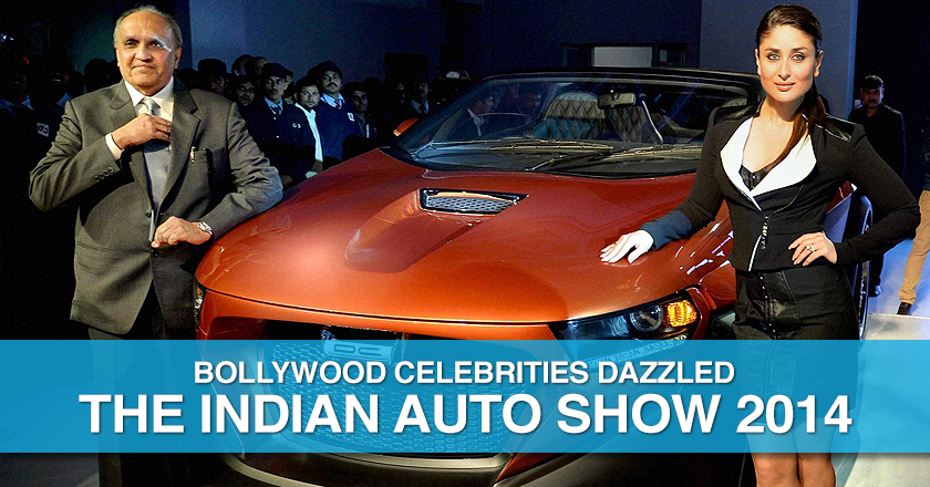 Indian AutoExpo 2014 Bollywood Celebs and Concept Cars
