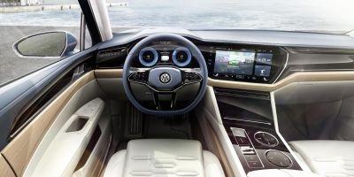 Inside the Volkswagen T-Prime Concept GTE