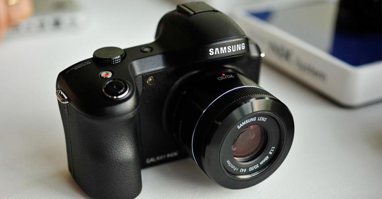 Introducing the Samsung Galaxy NX DSLR Camera