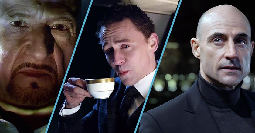 Jaguar Brings Three Hollywood Villains Together