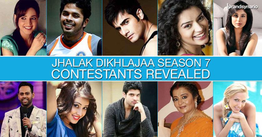 Jhalak Dikhhla Jaa 7 Final Contestants