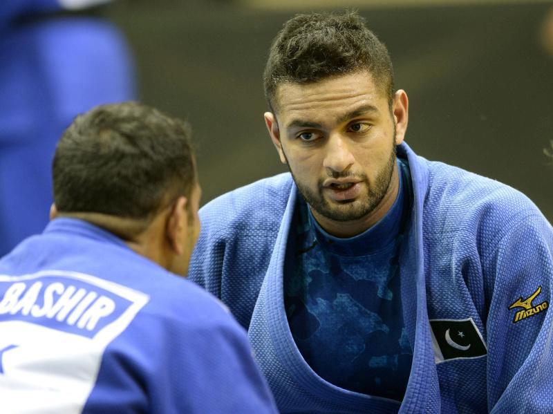 Judoka Shah Hussain.Brandsynario
