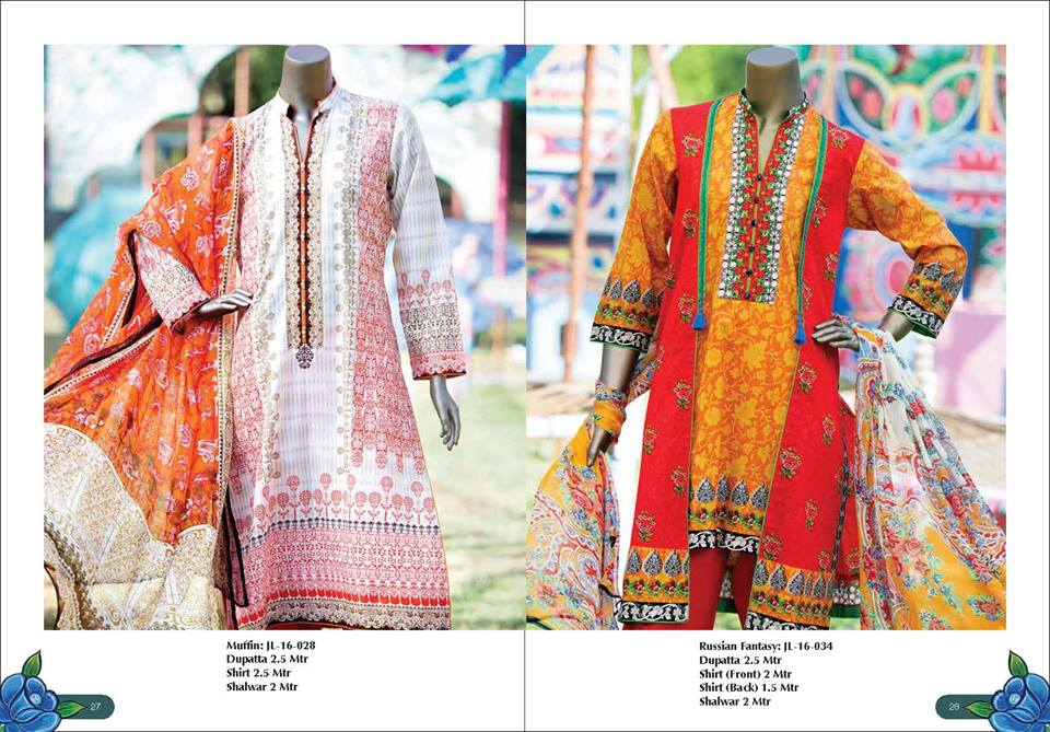 89009d9f0 Junaid Jamshed J.  Har Rang Apna  Summer Lawn 2016 Volume 1 Launched ...