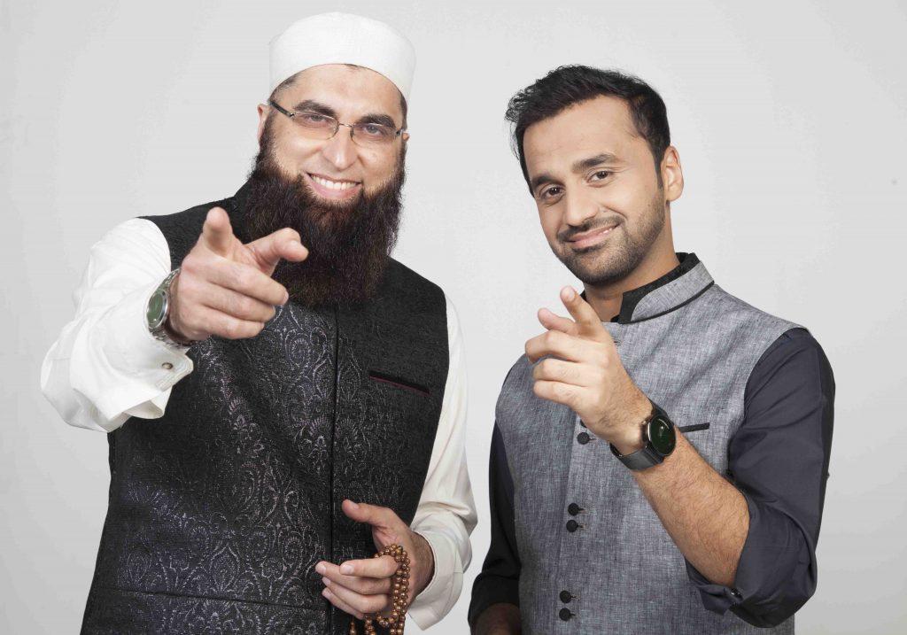 Junaid Jamshed and Waseem Badami