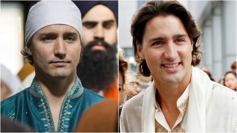 Justin Trudeau's desi style