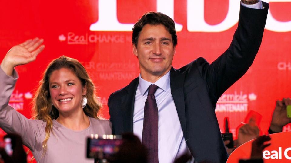 Justin Trudeau's winning Speech