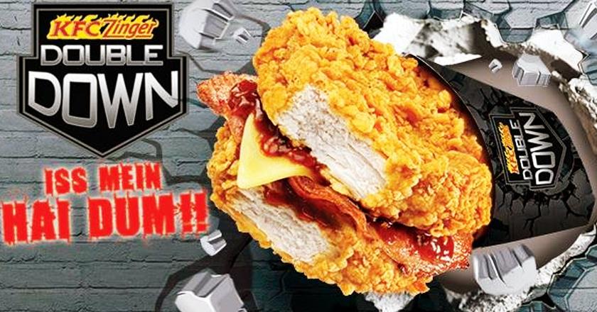 Kfc Double Down Sandwich In Pakistan Finally Thinking Outside The