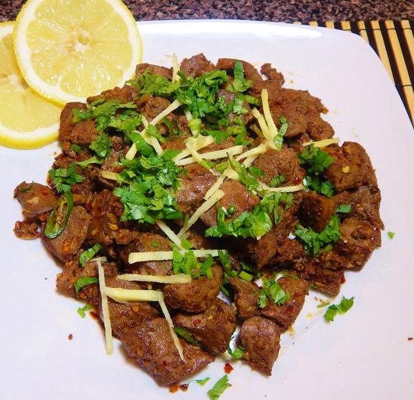 Pakistani Food Kaleeji