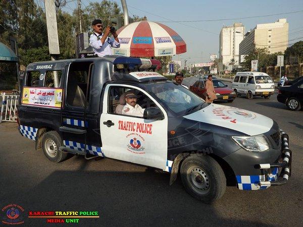 Karachi City Traffic Police.Brandsynario