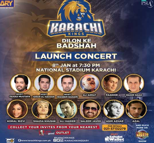 Karachi Kings psl 2016