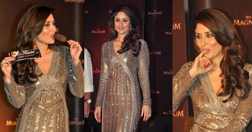 Kareena Kapoor Endorses Walls Magnum in India