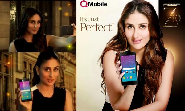 Kareena Kapoor Stars In QMobile Noir Z10 TVC- Specs, Price