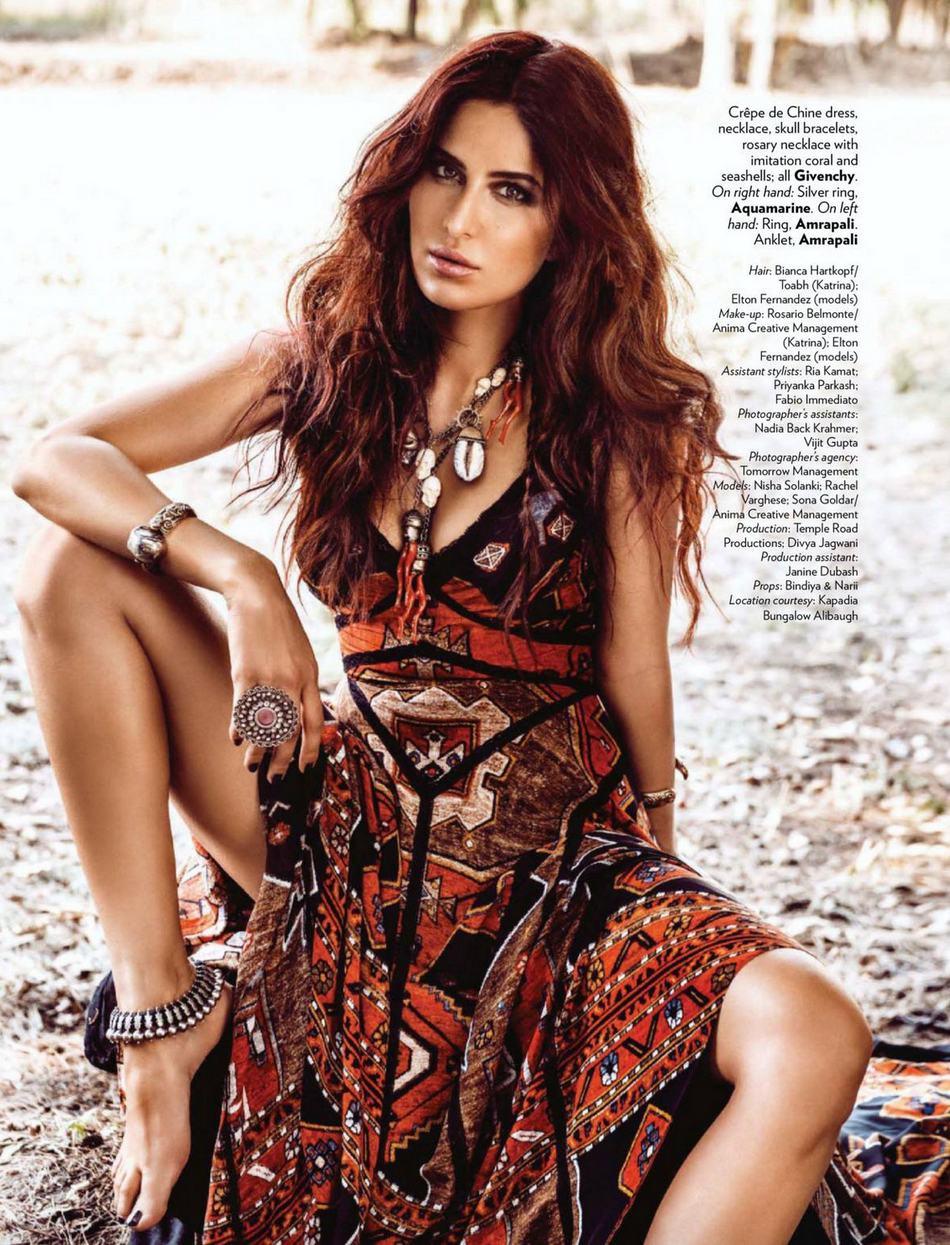 Katrina Kaif poses for Vogue (1)