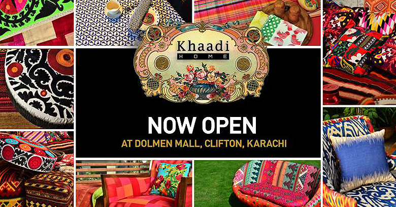 Khaadi Home Opens at Dolmen Mall Karachi