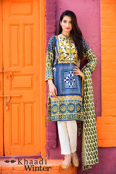 Khaadi Linen Winter Collection 2015 (7)