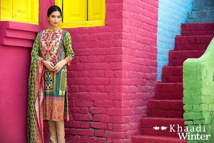 Khaadi Linen Winter Collection 2015 (3)