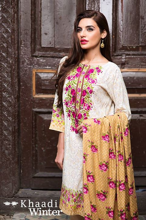 Khaadi Linen Winter Collection 2015 (2)
