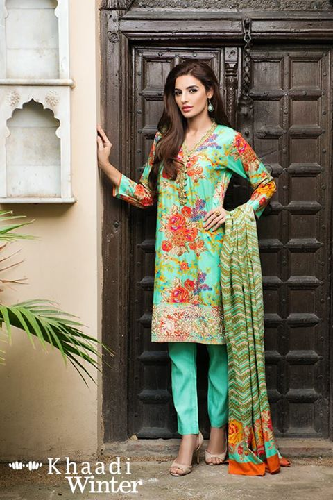 Khaadi Linen Winter Collection 2015 (1)