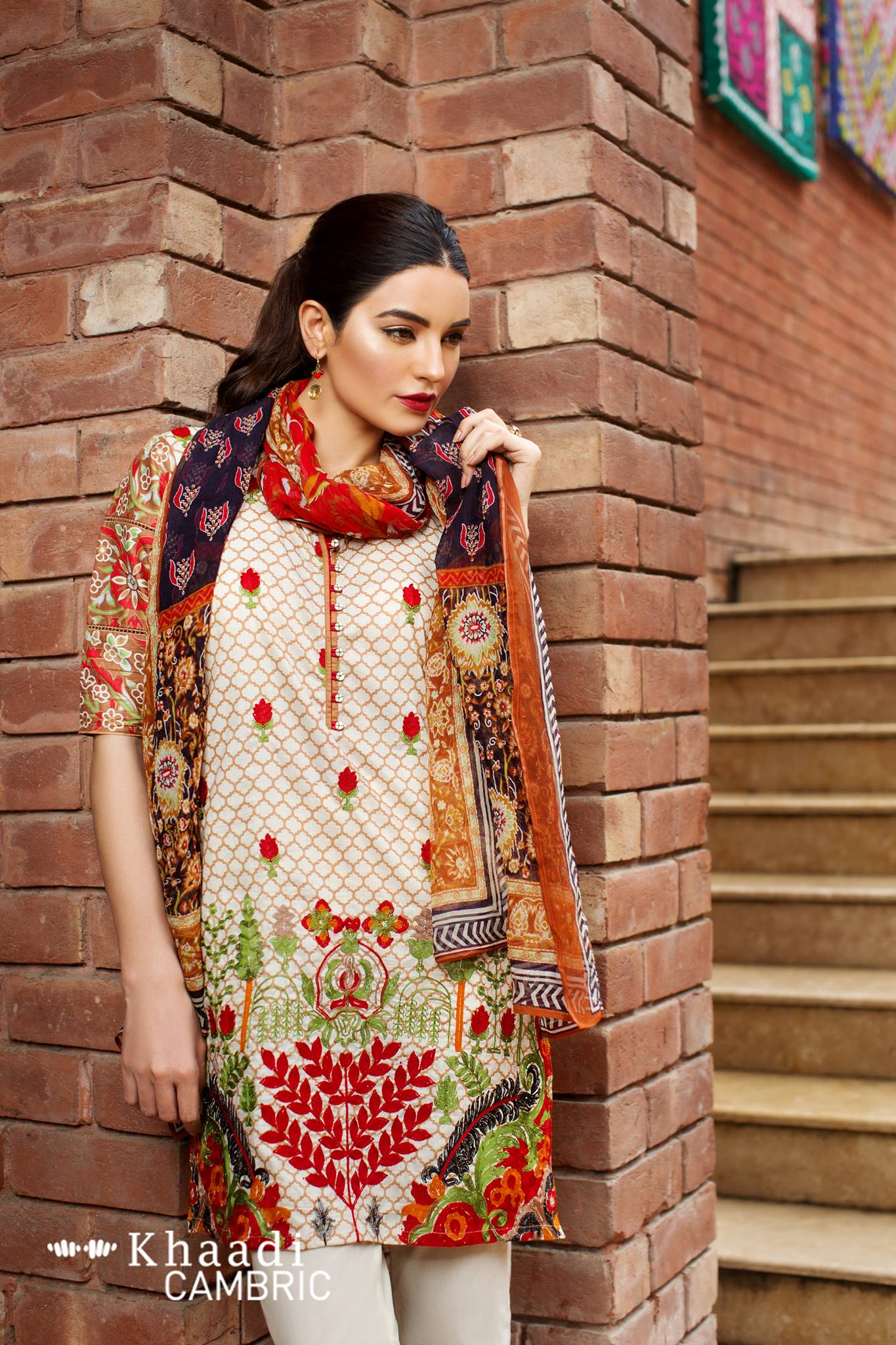 Khaadi Unstitched Cambric Collection: Price and Catalog