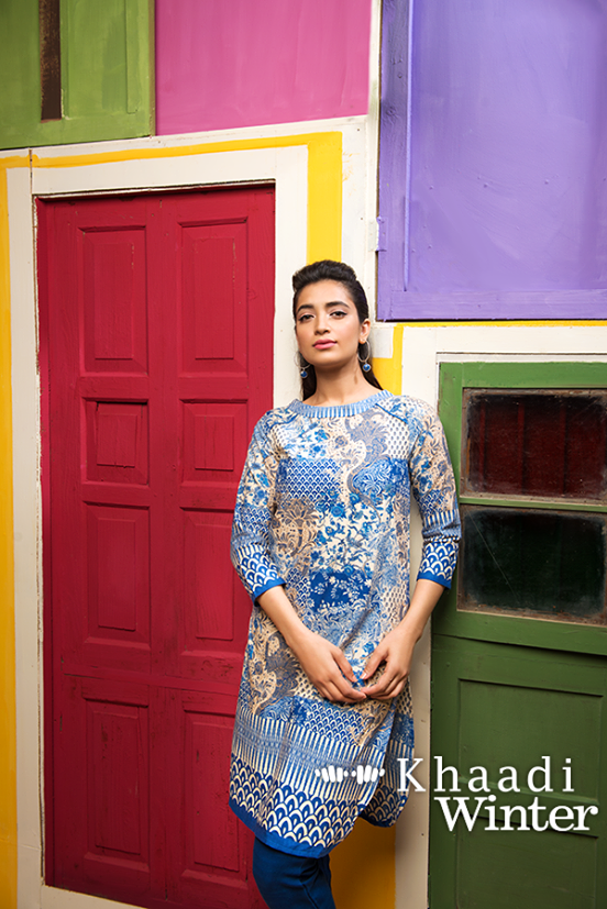 Khaadi Winter Collection 2015 Frenzy of Patterns (1)